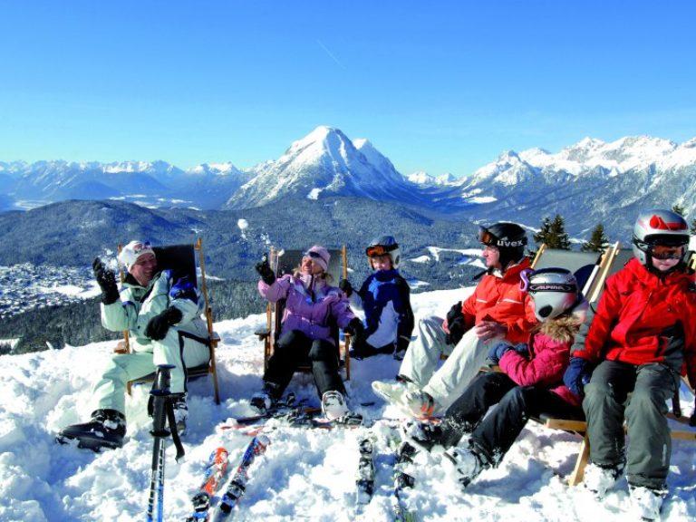 skifahren in Seefeld - Wellnesshotel Schönruh