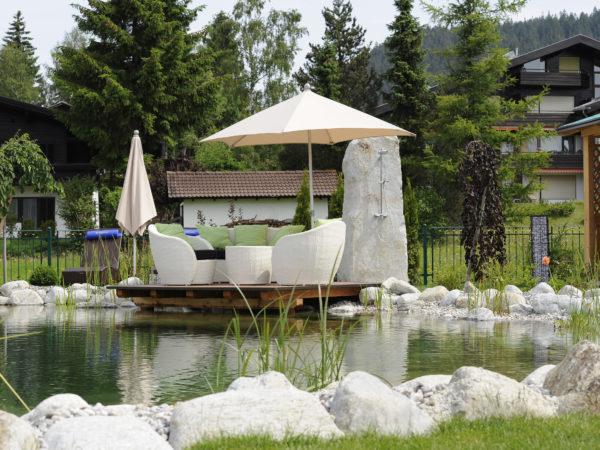 Relaxzonen im Sommer