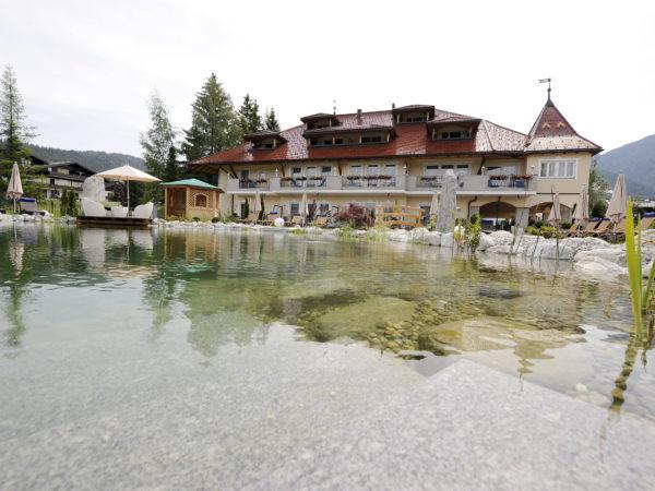 Schwimmteich - Wellnesshotel Schönruh