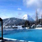 Schönruh Pool im Winter - Winterurlaub Seefeld