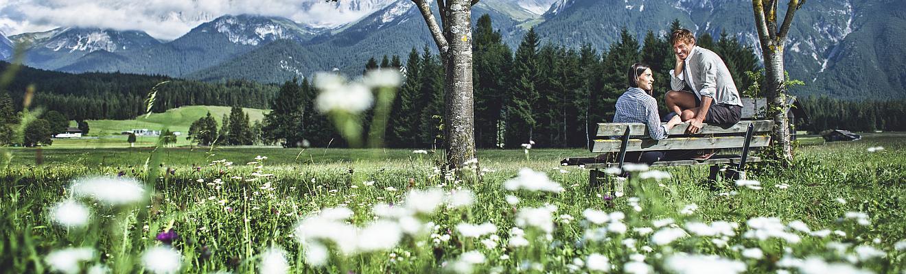 Frühling-Urlaub in Seefeld