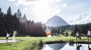 18-Loch Golfplatz in Seefeld - Golf Alpin Card
