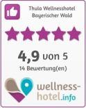 Bewertungssiegel - Wellness Hotel Schönruh